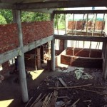 027建設中のザディバラ寺の内側