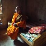022CSからの支援金で購入した僧侶のベッド
