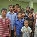 178孤児院の子ども達
