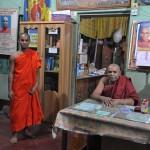 162住職でバルワ族のシャモンガルテル僧侶