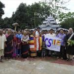 036ディグリバ村の受益者と記念撮影