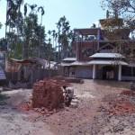 006新築中のRamu Maitri Bihar寺院