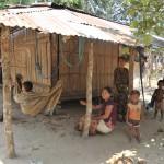 197アラカン族のドショパラ村にて