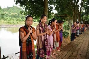 チャクマ族のShapchri(シャプチャリ)村へ